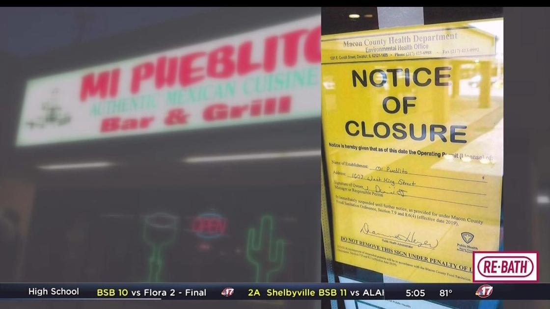 Mi Pueblito closed by health department | Top Stories