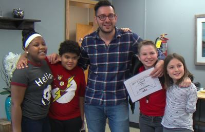 Teacher passes on chess tradition to students