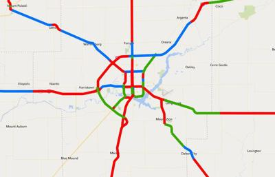 Some Illinois roads get lowest condition rating from IDOT