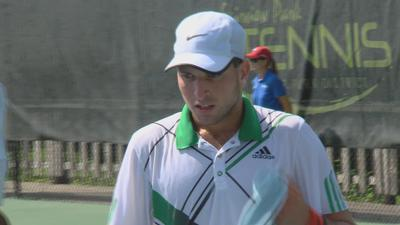 Several Illinois student-athletes compete in the 21st Annual Ursula Beck Pro Tennis Classic