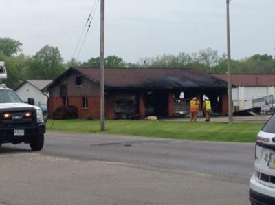 Springfield garage fire