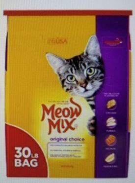 Meow Mix cat food recall