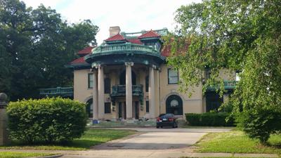 Historic mansion up for auction