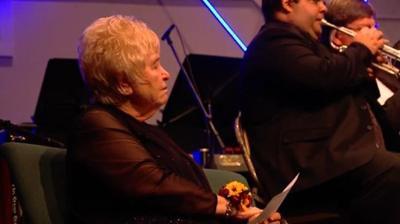 Decatur Municipal Band honors retiring master of ceremonies