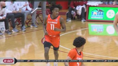 Illini battle, earn a victory in overtime on the road against Indiana