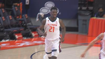 Kofi Cockburn announces he'll return to Illinois after being in the transfer portal