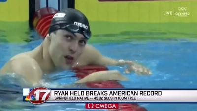 Springfield's Ryan Held sets national, world records in China