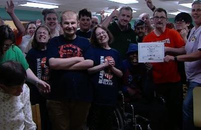 People with disabilities find work through organization