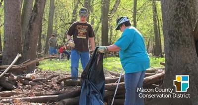 Macon County Conservation District hosting River Clean Up, Festival of Spring