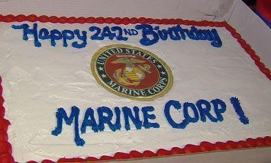 Stupendous Marine Corps Birthday Draws Decatur Crowd Top Stories Wandtv Com Funny Birthday Cards Online Elaedamsfinfo