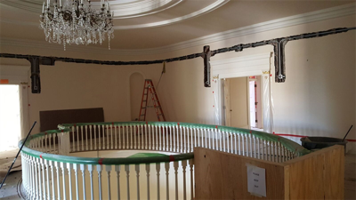 Work on Governor's Mansion nears completion