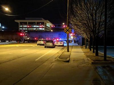 Springfield train vs. pedestrian