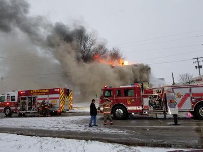 Effingham fire - 300 block S. 4th St.