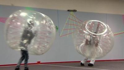 Largest indoor KnockerballMax experience in Forsyth
