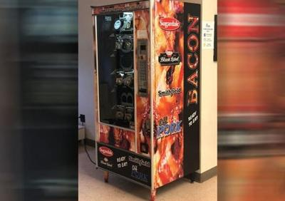 $1 bacon sold in college vending machine
