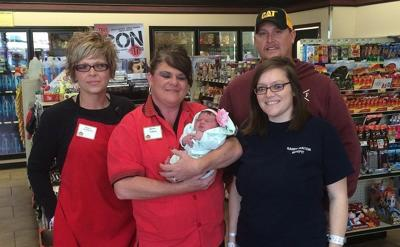 Woman gives birth at Casey's General Store in Moweaqua