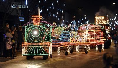 Danville Night of Lights parade