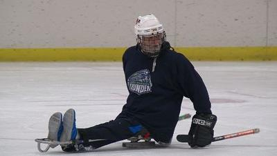 Sled hockey skates on inclusiveness, fun