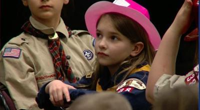 Boy Scouts welcome first female Cub Scouts