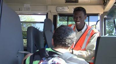 Charleston bus driver delivers life lessons with handshake, smile