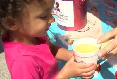 Lemonade stand raises money for a cause