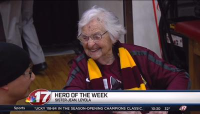 Hero of the Week: Sister Jean, Loyola