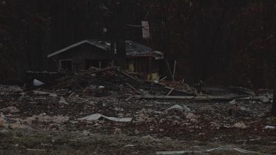 Explosion Destroys House, Knocks Neighbor's Home off Foundation