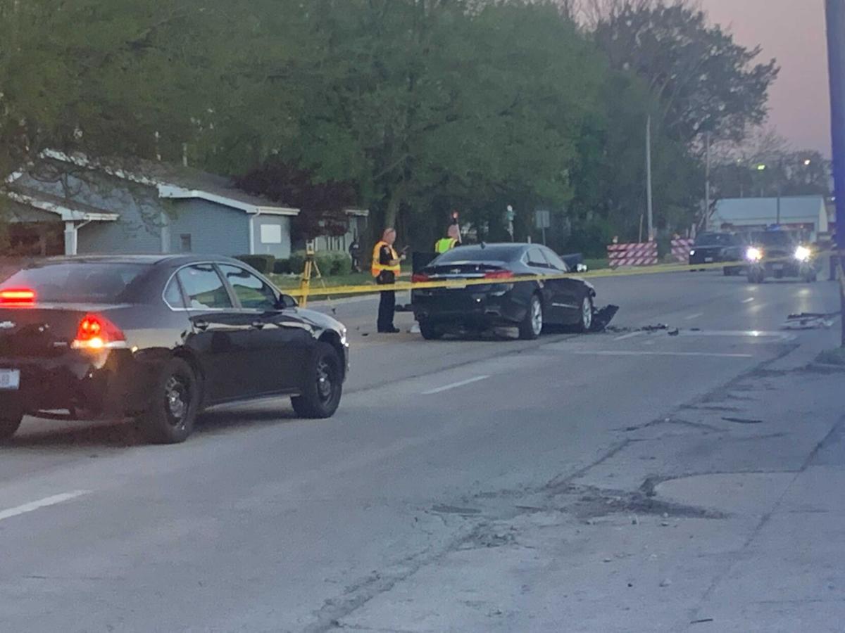 Monroe Street crash 1