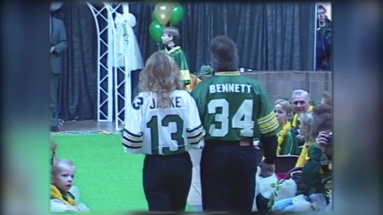 mall packers wedding