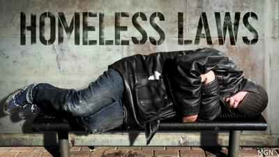 Homeless Laws pic from MGN