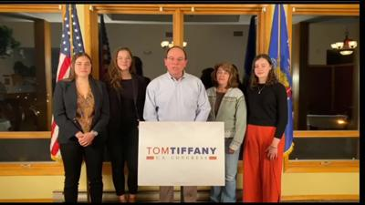 Tom Tiffany special election night