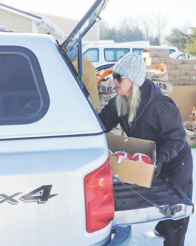 Food bank distribution