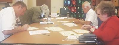 Certifying petitions