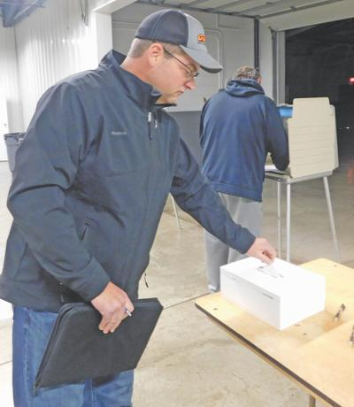 Toby Lee votes Saturday