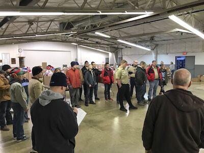 Volunteers prepare for Christmas Cheer deliveries