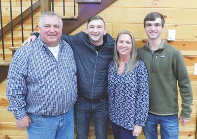 Jacob Brown & family
