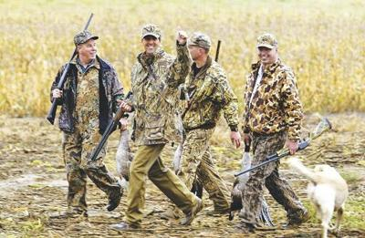 Local goes hunting with presidential candidate