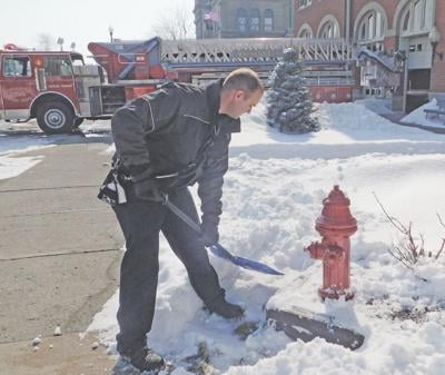 Help dig out hydrants