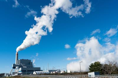 FILE - smokestack, clean coal, carbon tax, power plant