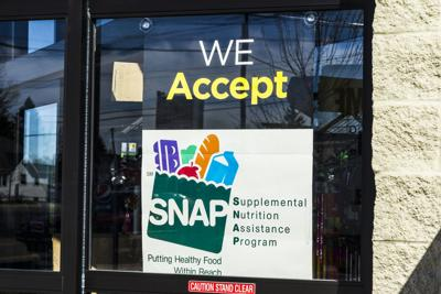 FILE - Food Stamps, Snap, Store