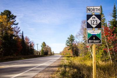 FILE - Michigan road