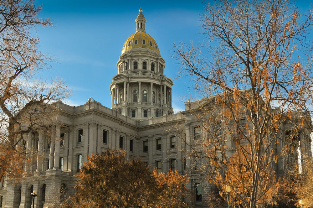 FILE - Colorado State Capitol