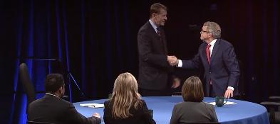 FILE - Cordray and DeWine Governor Debate