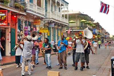 FILE - New Orleans jazz