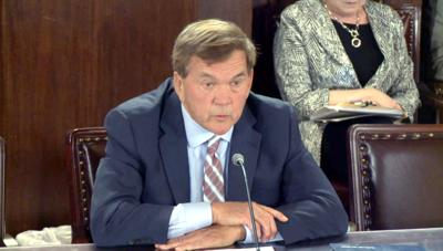 FILE - PA Tom Ridge 4-8-2019