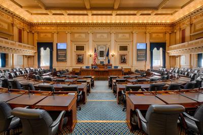 FILE - Virginia State Capitol (House of Representatives)