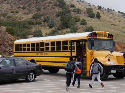 FILE - School bus (Colorado)