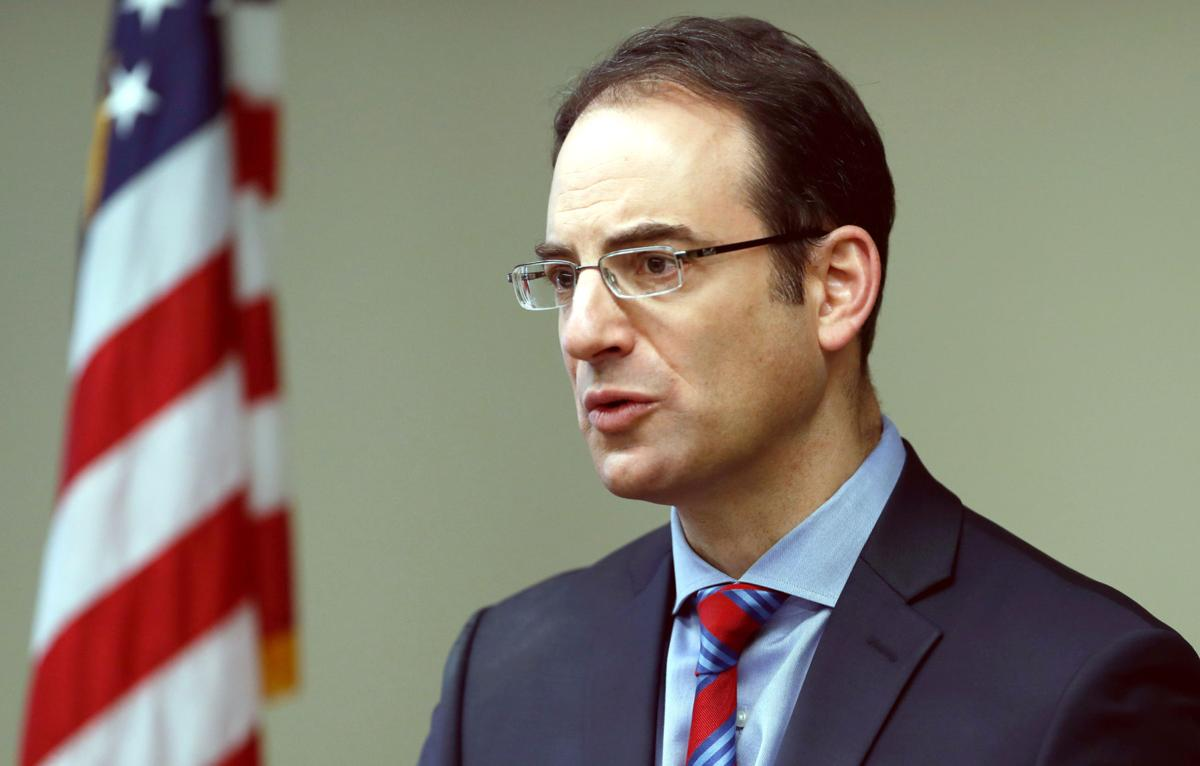 FILE - CO Phil Weiser 2-19-2019