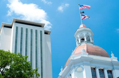FILE - Florida capitol