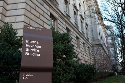 FILE - Internal Revenue Service (IRS)